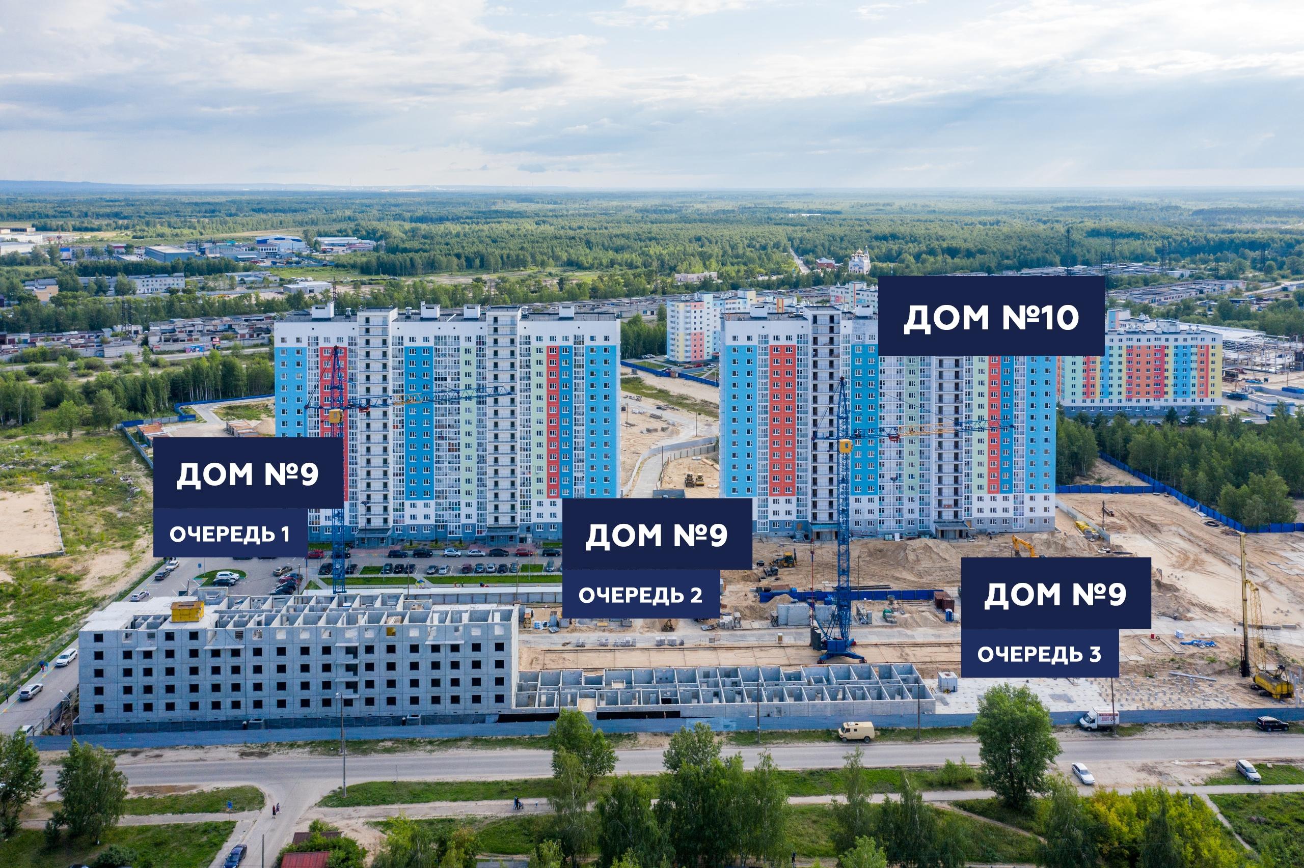 """Отчет о строительстве ЖК """"Корабли"""" июль 2019"""